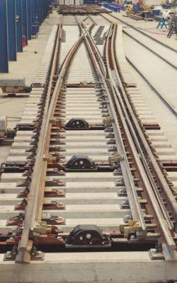 DF Rail finaliza el prototipo de desvío para vías de dos anchos para el Corredor Mediterráneo