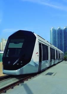 Alstom España participa en el desarrollo del tranvía de Dubái el primer tranvía 100% sin catenaria