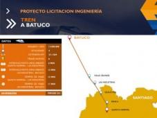 Chile:Tren a Batuco