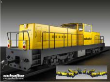 Nueva plataforma de locomotoras de servicio