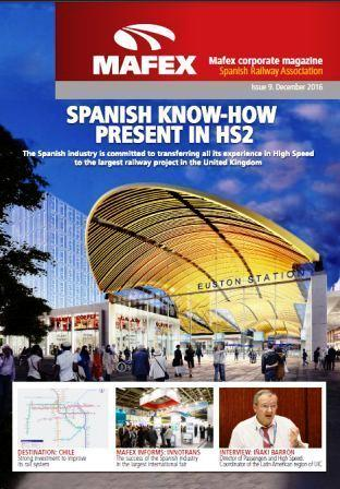 The Spanish know how present in the HS2 project