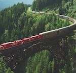 ruta ferroviaria de Canada
