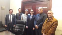 Misión estudio de Mafex a Egipto y Kuwait