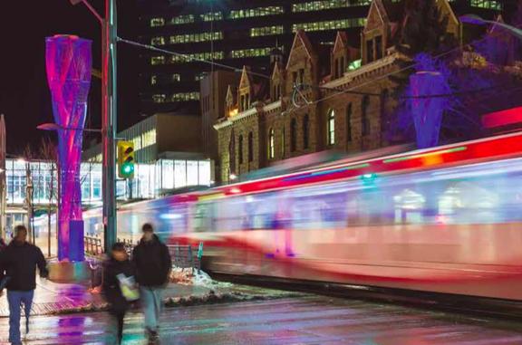 Sistemas ferroviarios urbanos en Canada