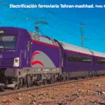 nuevas lineas-electrificacion ferroviaria en iran
