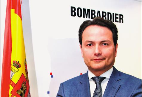 Bombardier nombra a Óscar Vázquez presidente y consejero delegado de la compañía en España