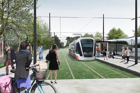 COMSA, elegida para construir el tranvía de Odense (Dinamarca)