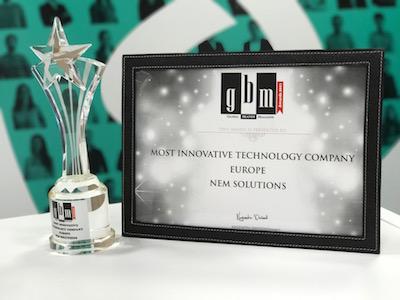 NEM Solutions: Empresa más innovadora de Europa del año 2017