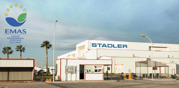 Stadler Rail Valencia renueva sus certificaciones medioambientales