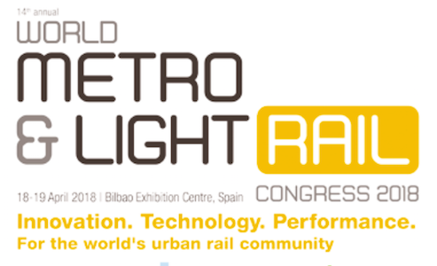 "Avanza a buen ritmo el ""14th World Metro & Light Rail Bilbao 2018"""