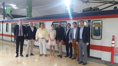 Delegación comercial de Mafex a México
