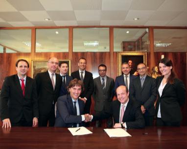La Farga refuerza su posicionamiento internacional tras la firma de un acuerdo con Danieli