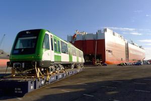 Alstom España envía los primeros trenes adicionales para la Línea 1 del Metro de Lima, Perú