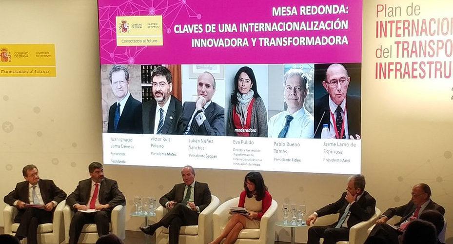 """Presentación del""""Plan de Internacionalización del Transporte y las Infraestructuras 2018-2020"""""""