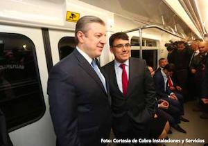 Siemens lleva la digitalización a la extensión de la línea 2 del Metro de Tbilisi en Georgia