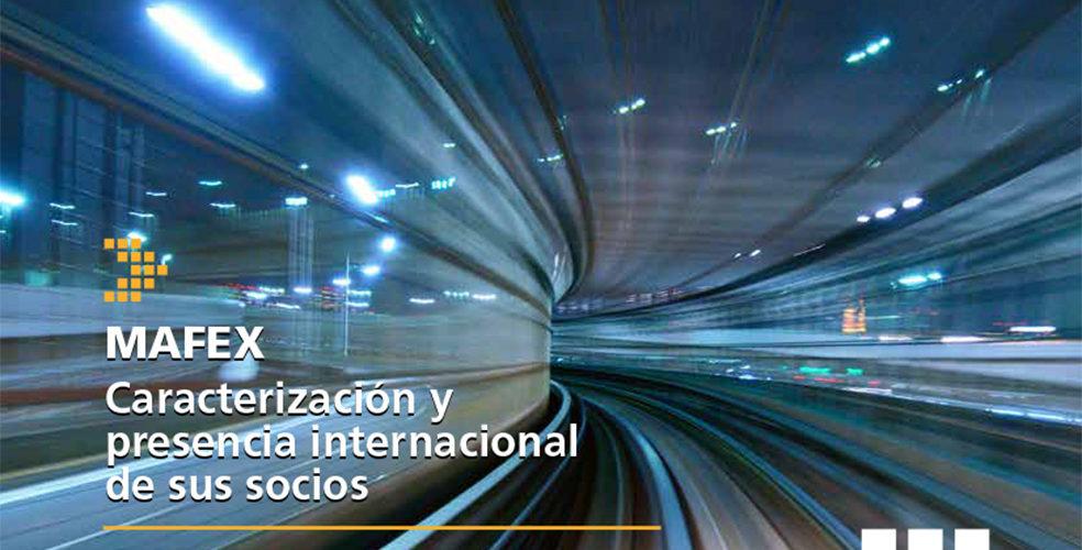 MAFEX publica el Informe de caracterización y presencia internacional de sus socios 2016