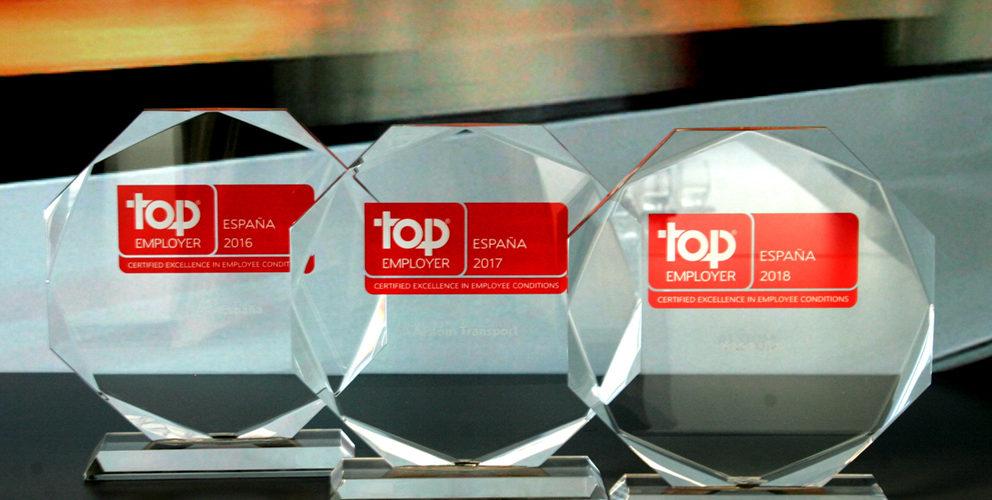 Alstom España, reconocida como Top Employer 2018