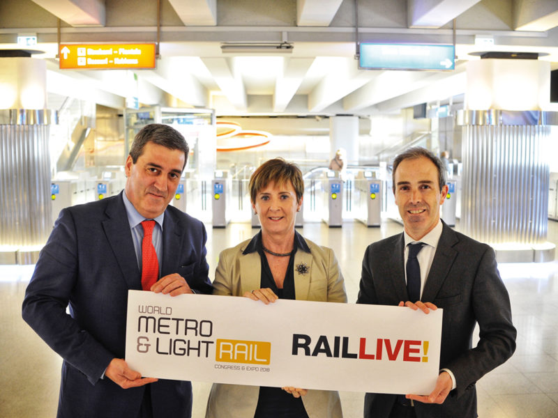 World Metro & Light Rail 2018 llega a Bilbao