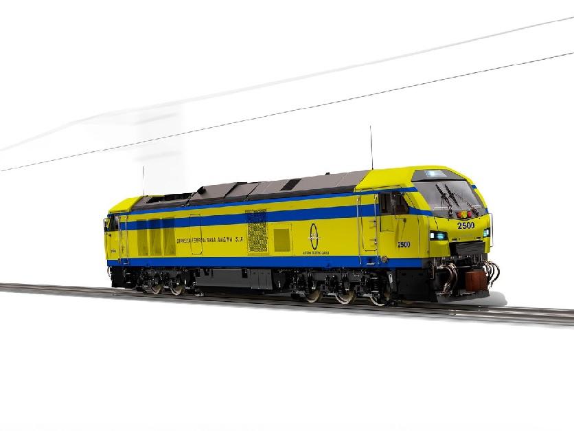 Primeras locomotoras de Stadler Valencia para Bolivia e Italia