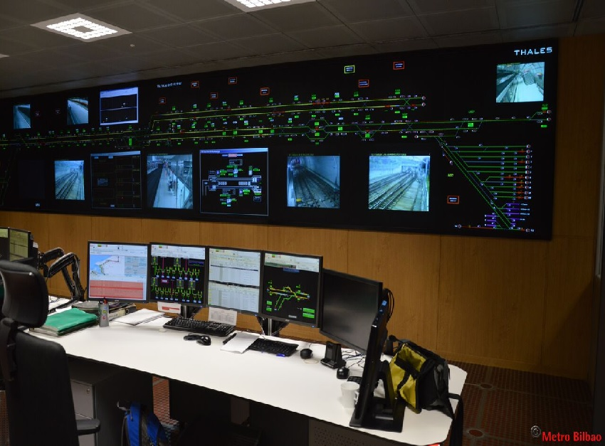 Bilbao Metro relies on Thales for its two Control Centres