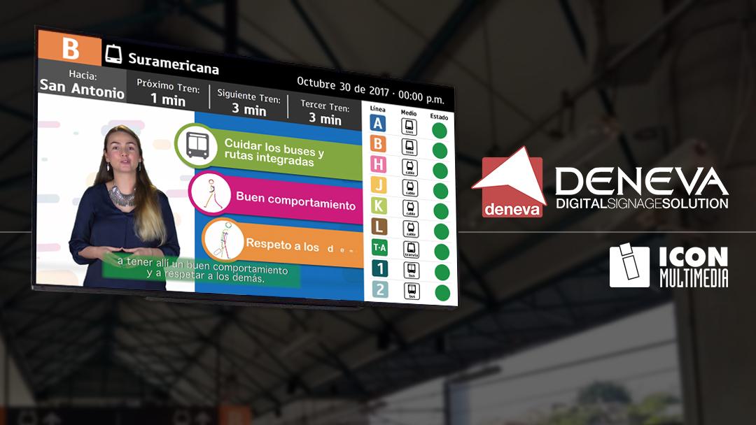 ICON Multimedia acerca a InnoTrans DENEVA, su solución inteligente al servicio del ciudadano