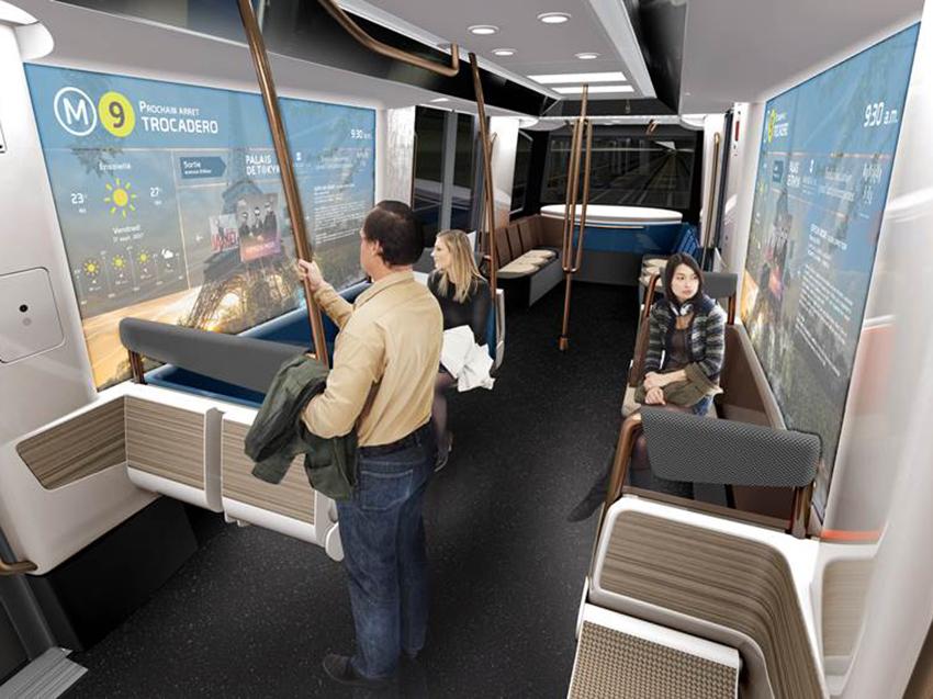 Ventanas inteligentes para el Metro de Barcelona