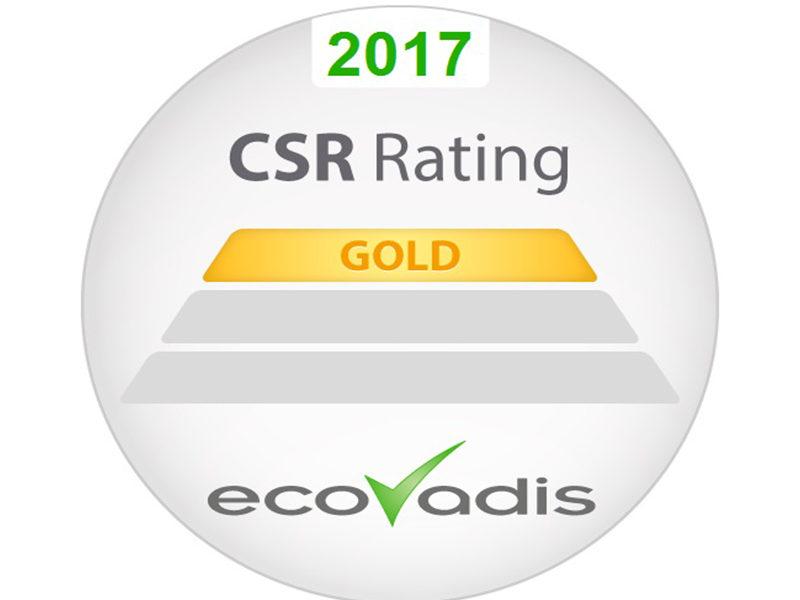 ArcelorMittal recibe la calificación de Ecovadis Gold en RSC