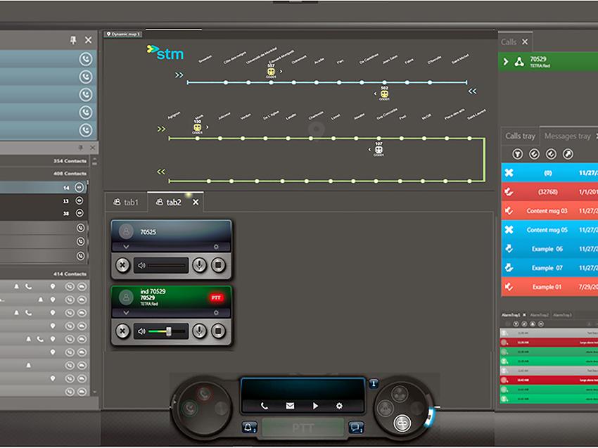 Mayor eficiencia y nuevas capacidades para los centros de control en el entorno de Transporte