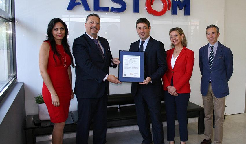 Alstom España, primera empresa en España en obtener la  certificación ISO 45001 de Seguridad y Salud Laboral