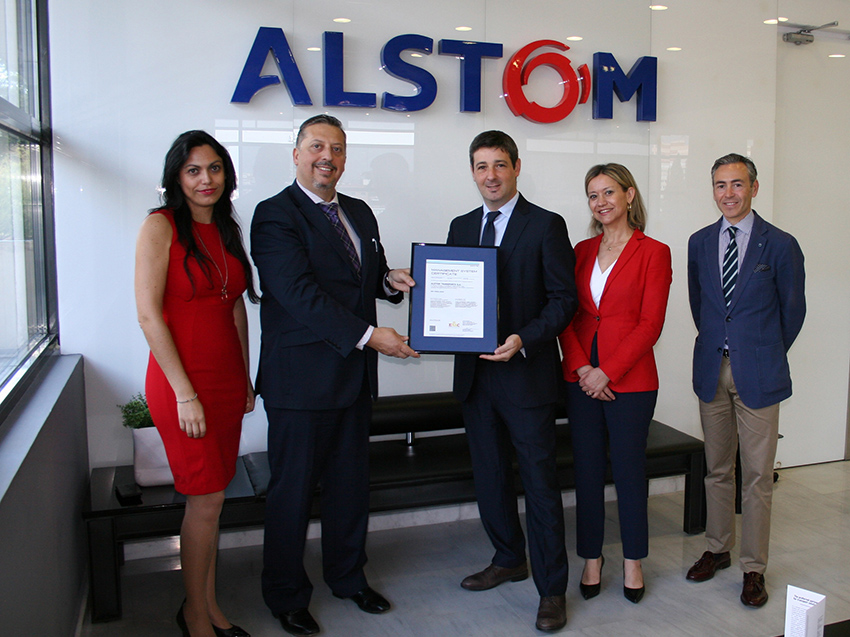 Alstom, first company to get the ISO 45001 Occupational health and safety management certification in Spain