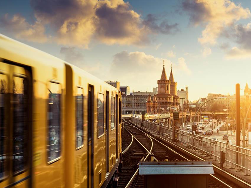 Algunos socios con proyectos de transporte público en Berlín