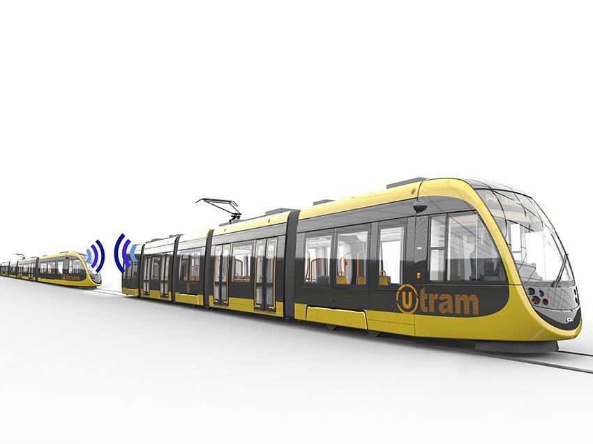 Acoplamiento virtual de trenes