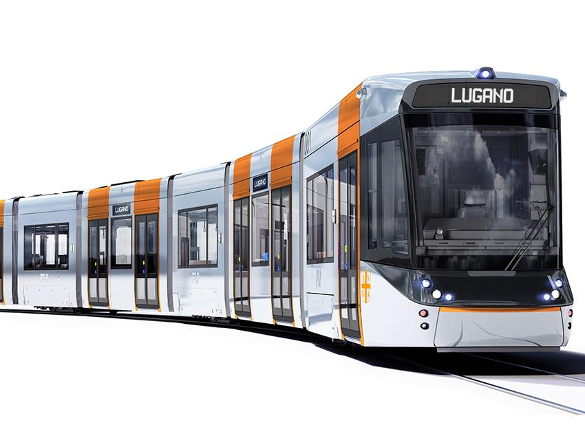 Stadler logra un contrato en el cantón suizo del Tesino: suministrará nueve trenes-tram a FLP