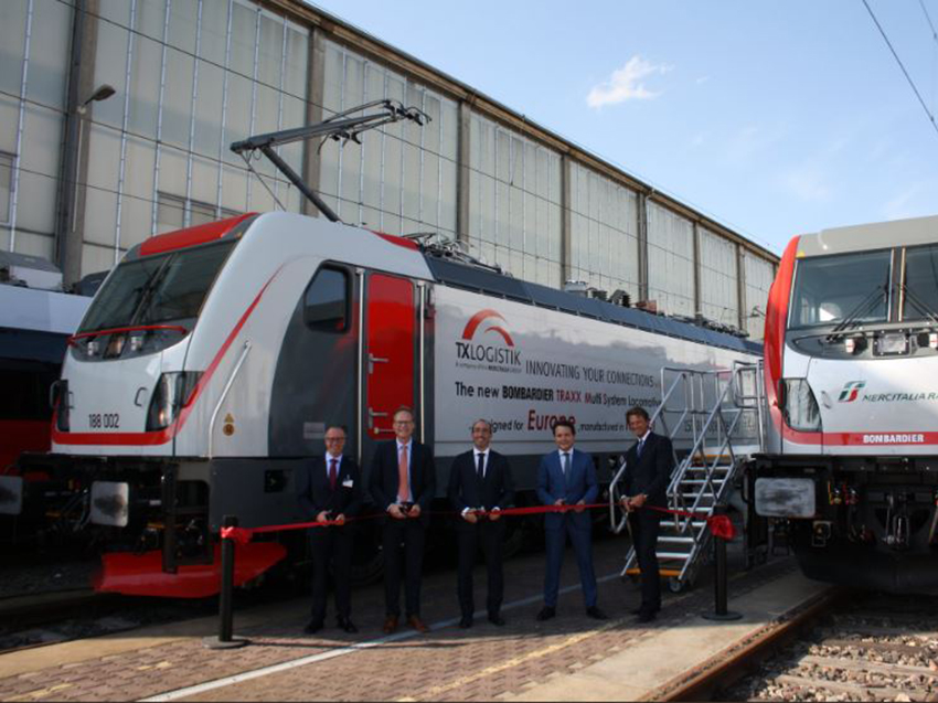 A new battery train is unveiled at Innotrans