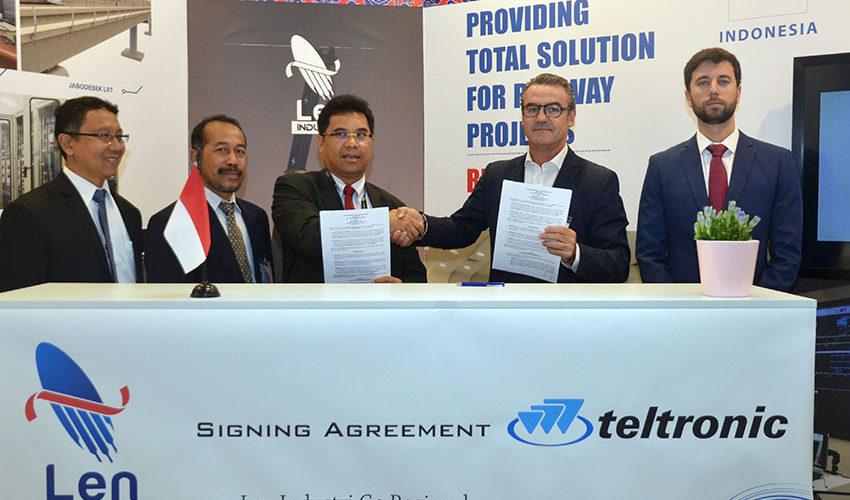 Teltronic firma un acuerdo con la indonesia PT LEN para impulsar la señalización ferroviaria ETCS y CBTC sobre tecnología TETRA