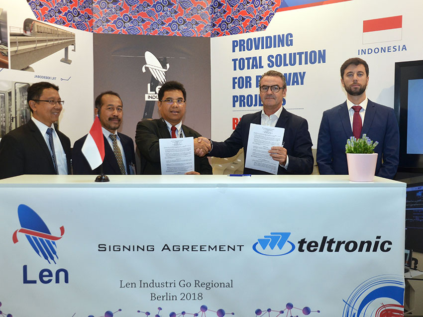 PT LEN and Teltronic will cooperate in the integration of ETCS and CBTC signalling over TETRA technology