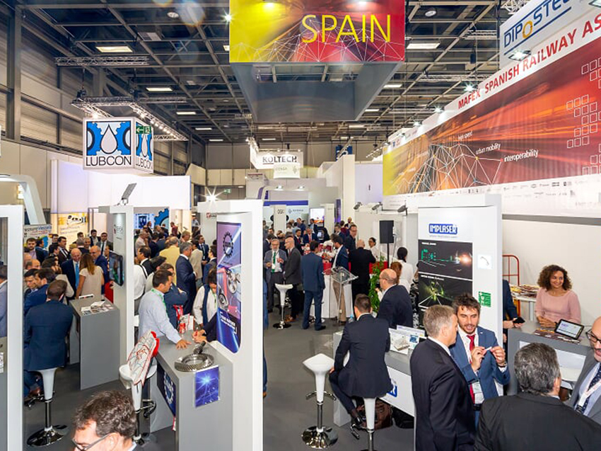 InnoTrans 2018: Railway innovation, taking centre stage at the  Spanish Pavilion