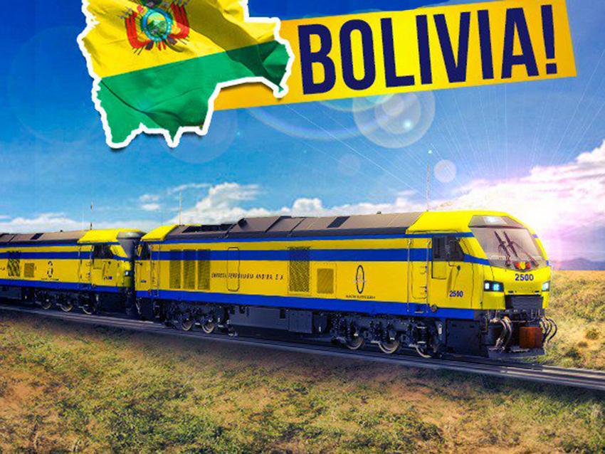 Bolivia reactiva su sistema ferroviario