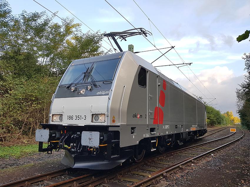 Spanish Engenieering, present in Akiem locomotives