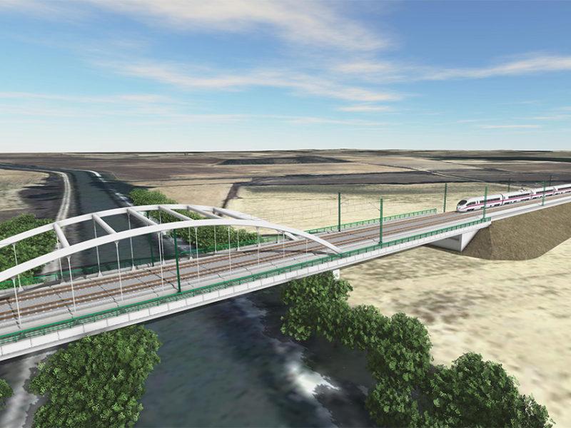 TPF GETINSA-EUROESTUDIOS redactará el Proyecto de Plataforma del tramo Amusco-Osorno de la Línea de Alta Velocidad Palencia – Aguilar de Campoo para ADIF.